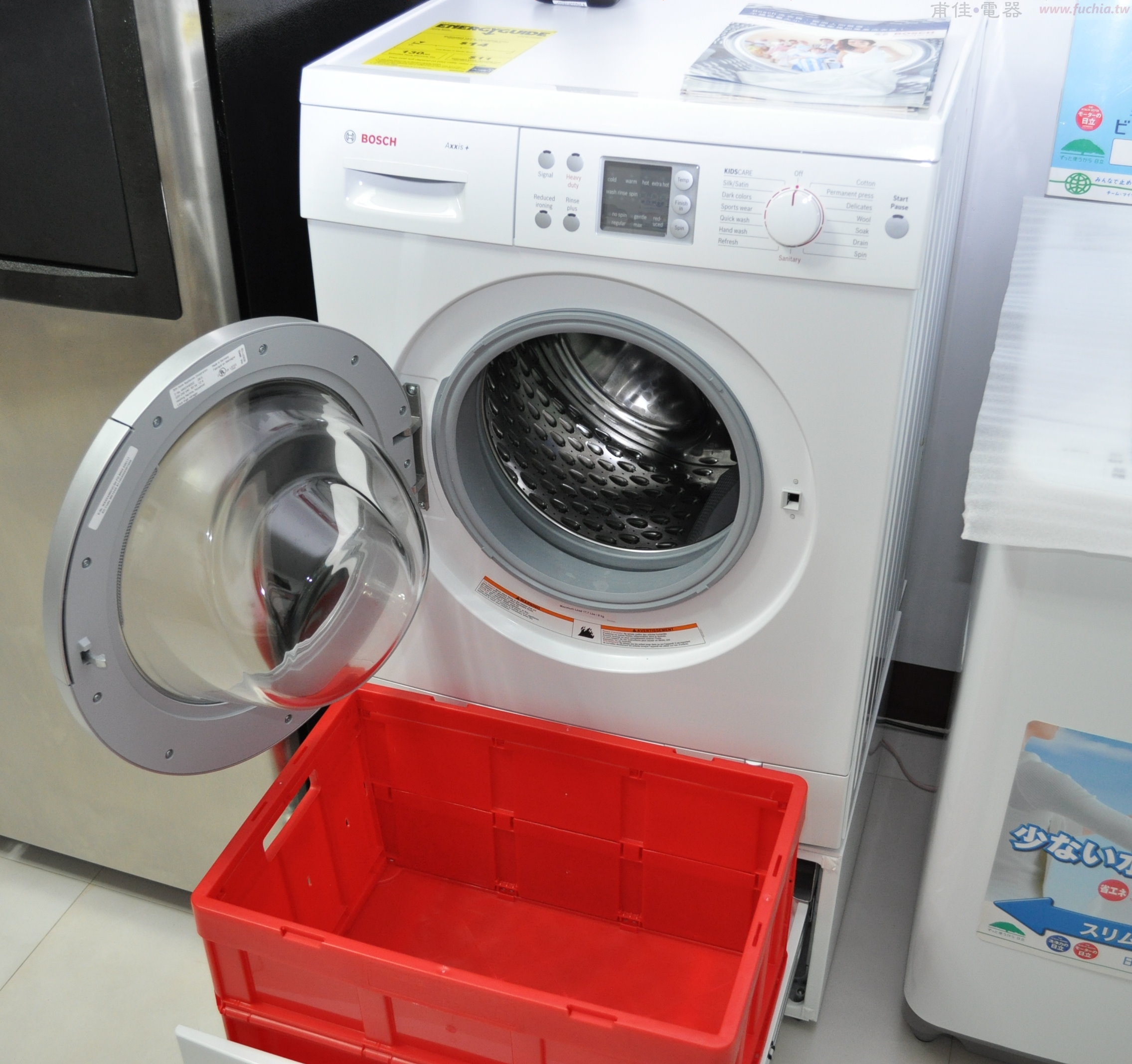 BOSCH 12公斤滾筒洗衣機WAS24460UC
