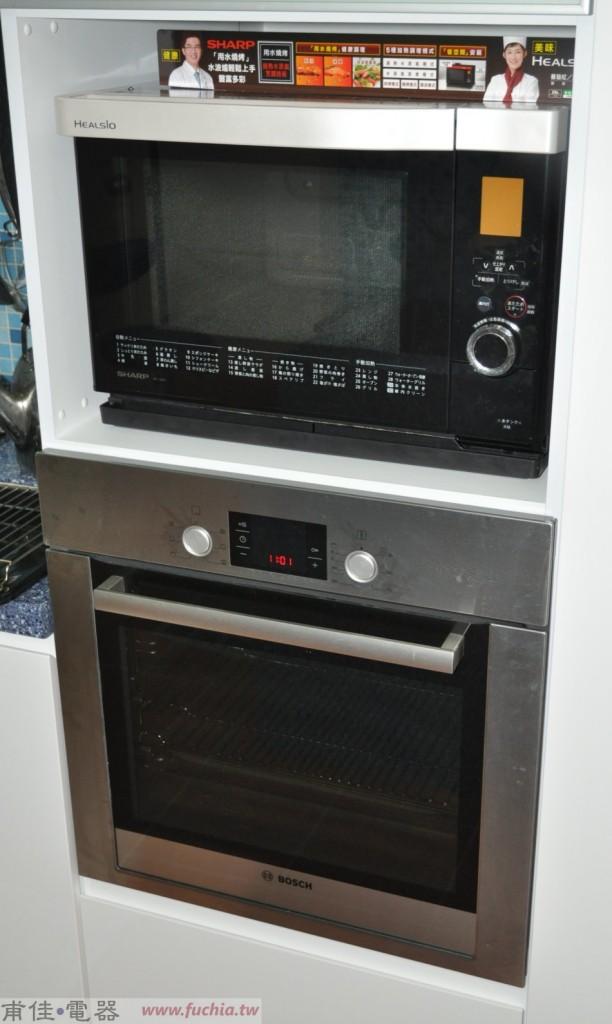 BOSCH烤箱與SHARP水波爐