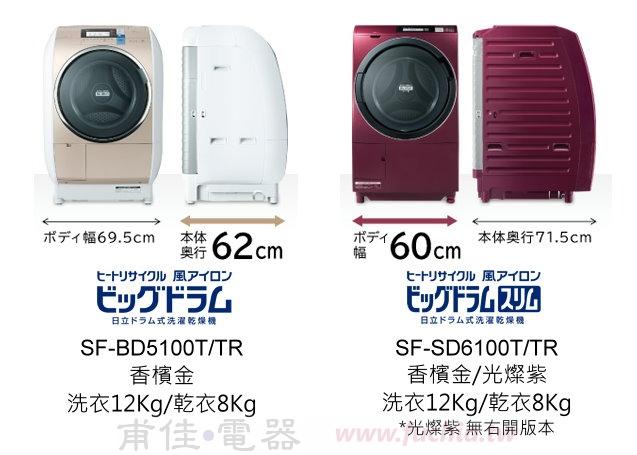 日立SFBD5100T SFSD6100T