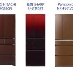 2016年 685級距 500L 日本原裝冰箱比較