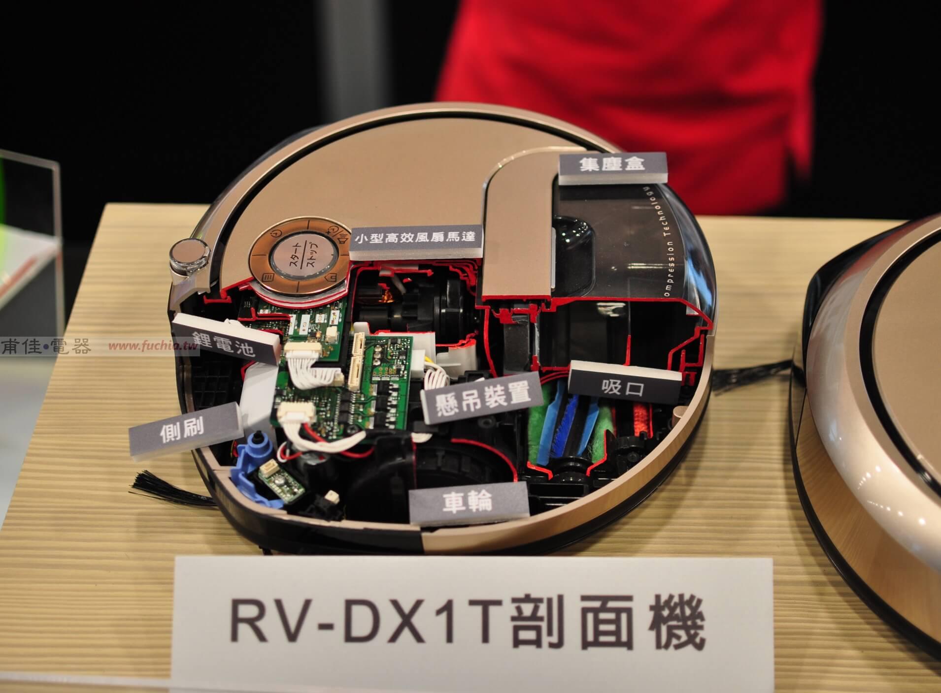 日立掃地機器人RV-DX1