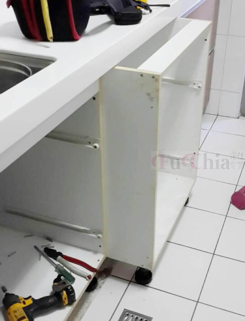 洗碗機安裝 拆櫥櫃