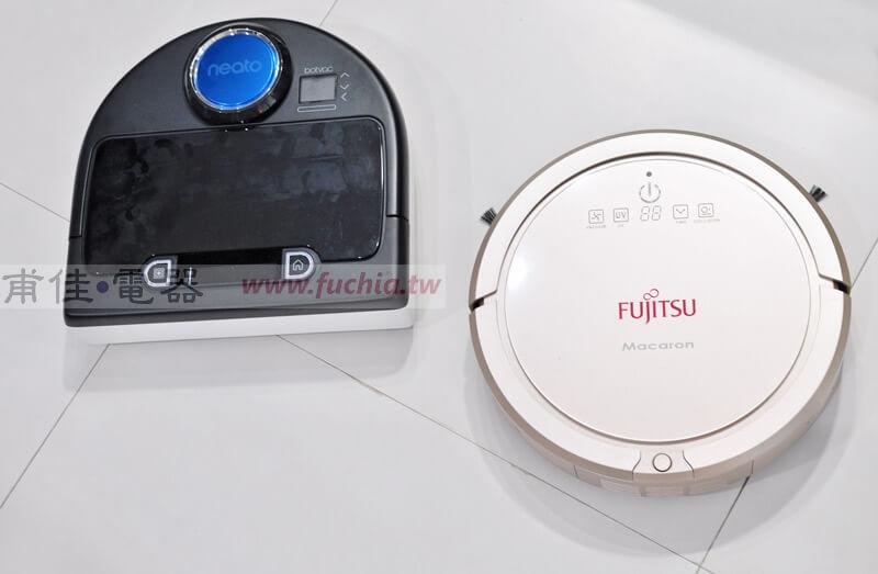 富士通掃地機器人與Neato D80