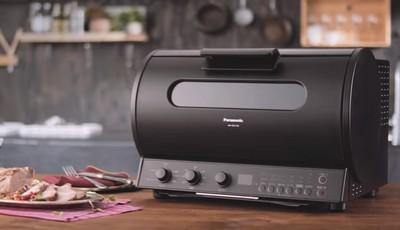 Panasonic360°自轉式烤箱燻烤爐NB-RDX100
