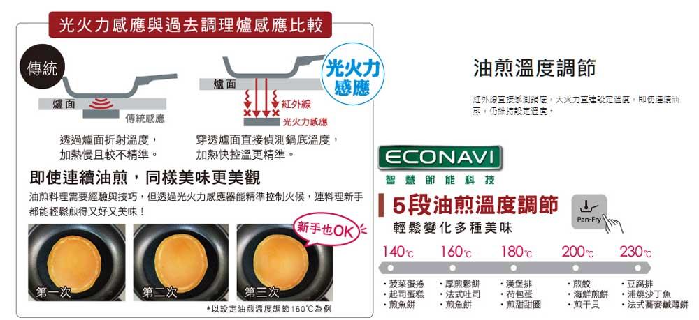 Panasonic KY-E227D IH調理爐 油煎