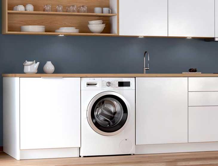 滾筒洗衣機櫥櫃下嵌入安裝
