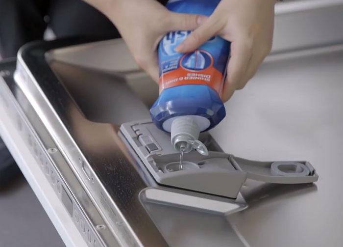 BOSCH洗碗機 添加光潔劑
