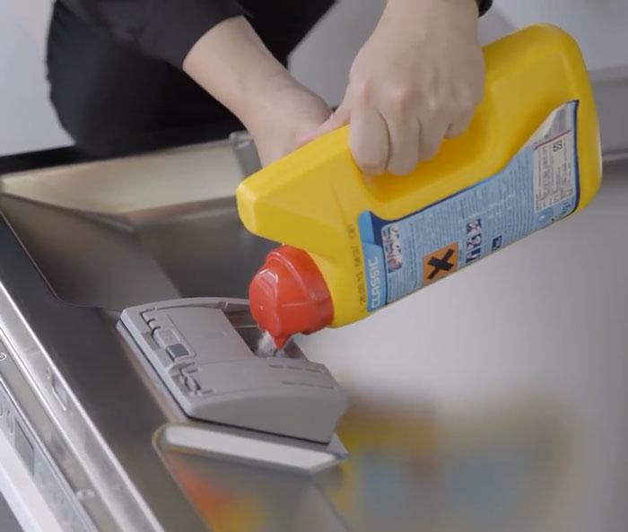 BOSCH洗碗機 放入洗碗粉