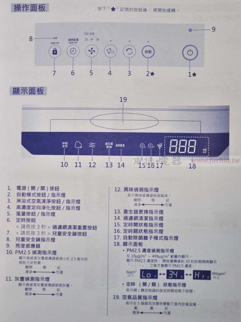 SHARP FP-J60T 空氣清淨機