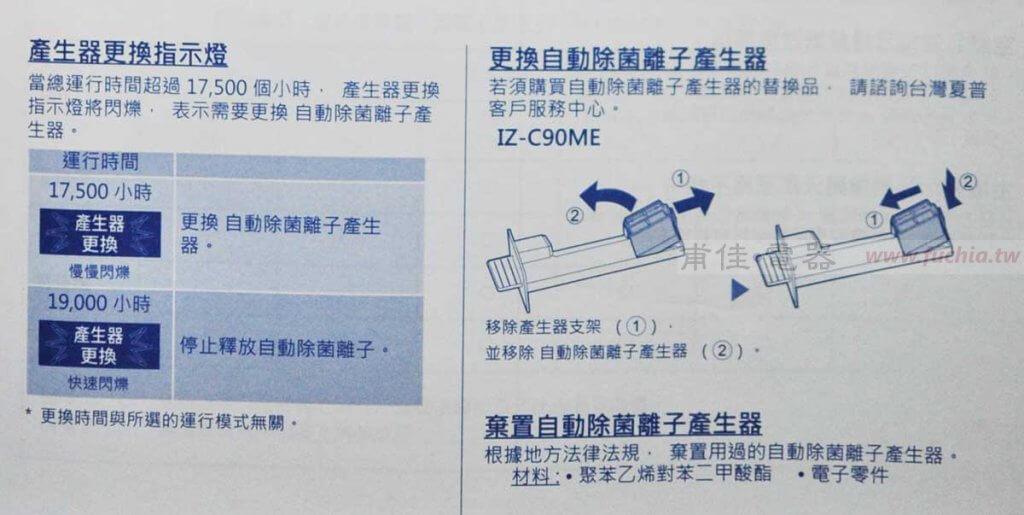 SHARP 自動除菌離子 FP-J60T