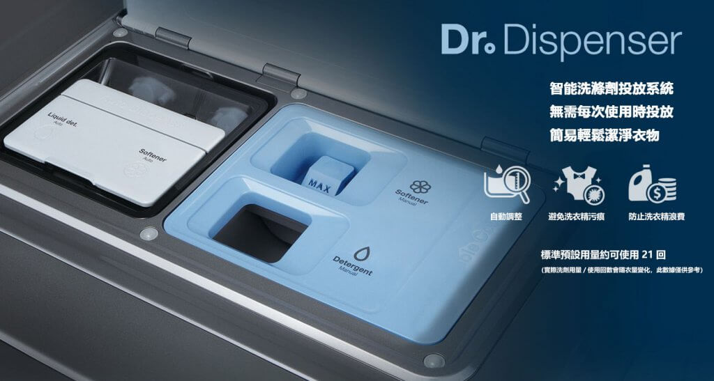 Dr.Dispenser 洗劑自動投放